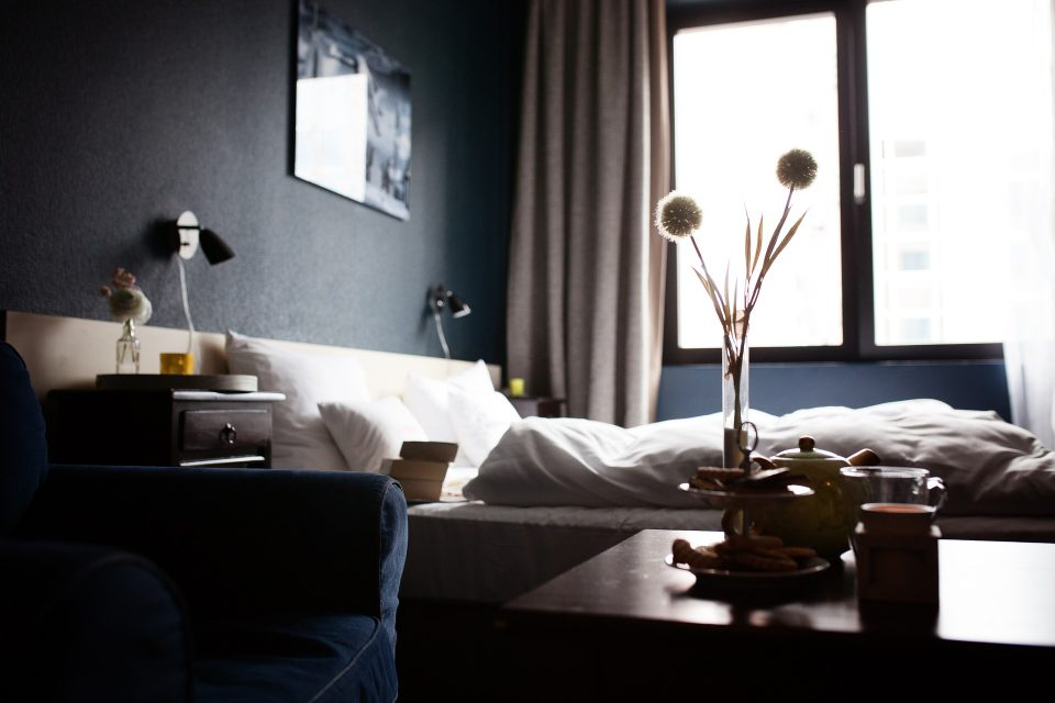 hotels selling items in room