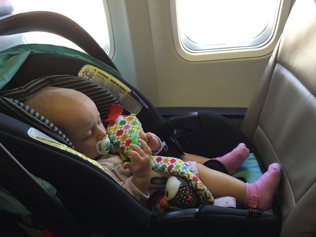baby flight lap child or seat